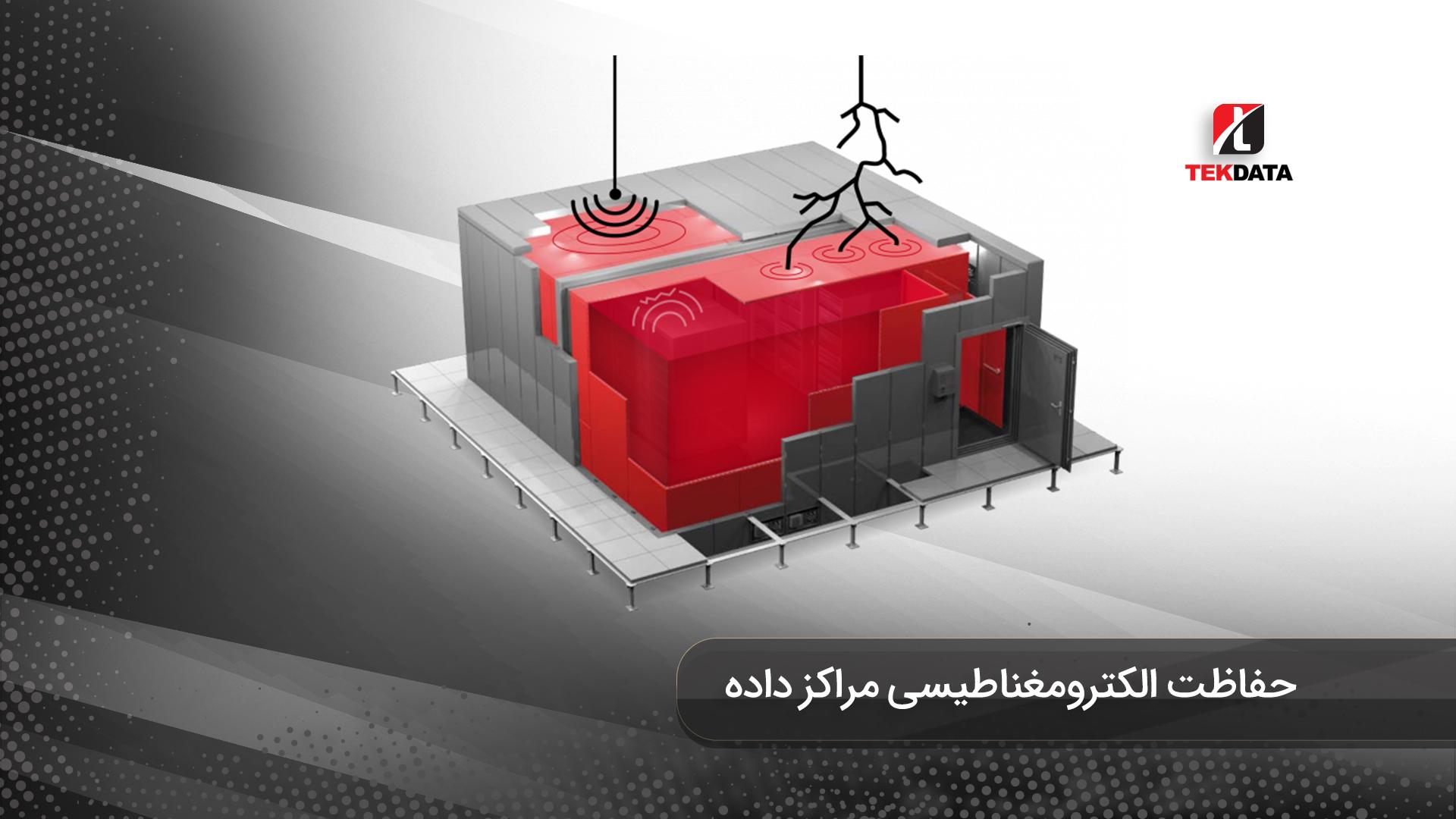 شیلد گذاری و حفاظت الکترومغناطیسی دیتاسنتر