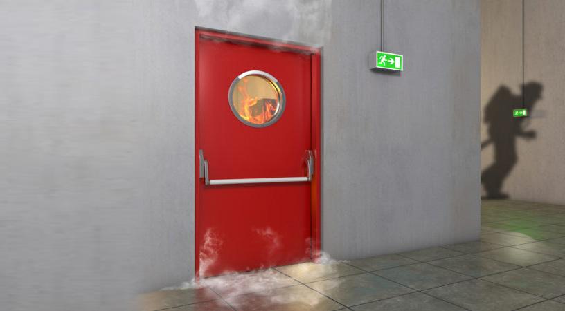 درب ضد حریق
