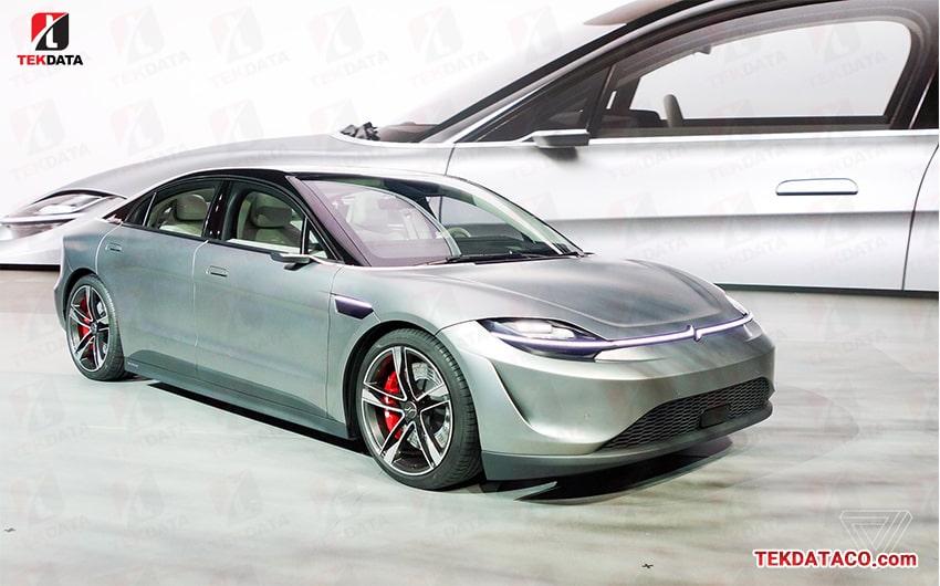 خودرو برقی سونی