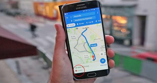 نمودار ساعت شلوغی مسیرها به Google Maps افزوده شد