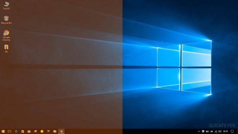 آموزش کم کردن نور آبی نمایشگر (َشیفت شب) در ویندوز 10
