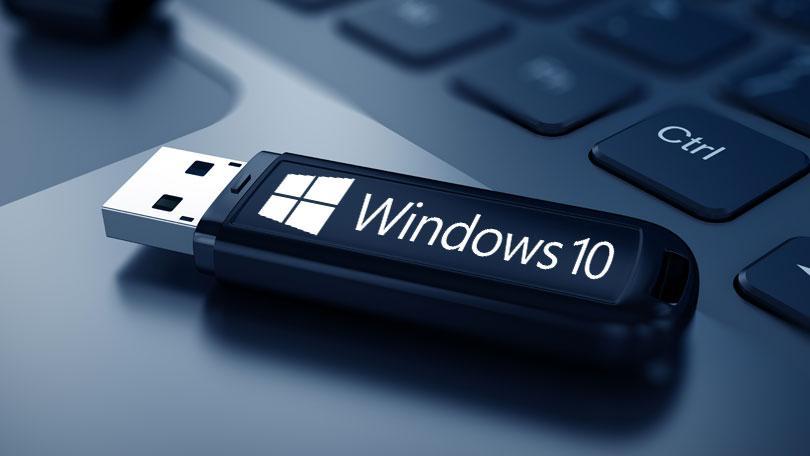 نصب ویندوز 10 با فلش مموری
