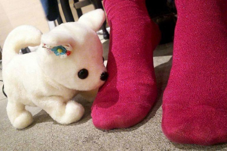 این سگ روبات ژاپنیها با استشمام بوی بد پا غش میکند + ویدیو