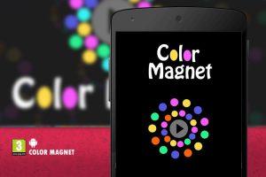 معرفی بازی جذاب اندروید Color Magnet