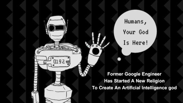 ساخت یک دین جدید با استفاده از هوش مصنوعی توسط مهندس سابق گوگل