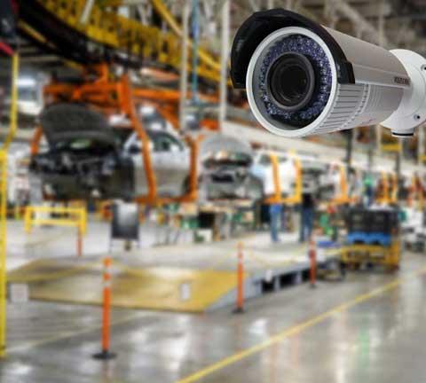 سیستم نظارت تصویر در کارخانه