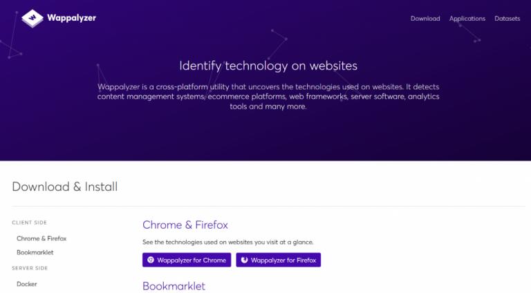 چگونه بفهمیم یک سایت با چه زبانی نوشته شده است؟