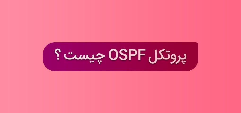 پروتکل مسیریابی Ospf چیست | تک دیتا