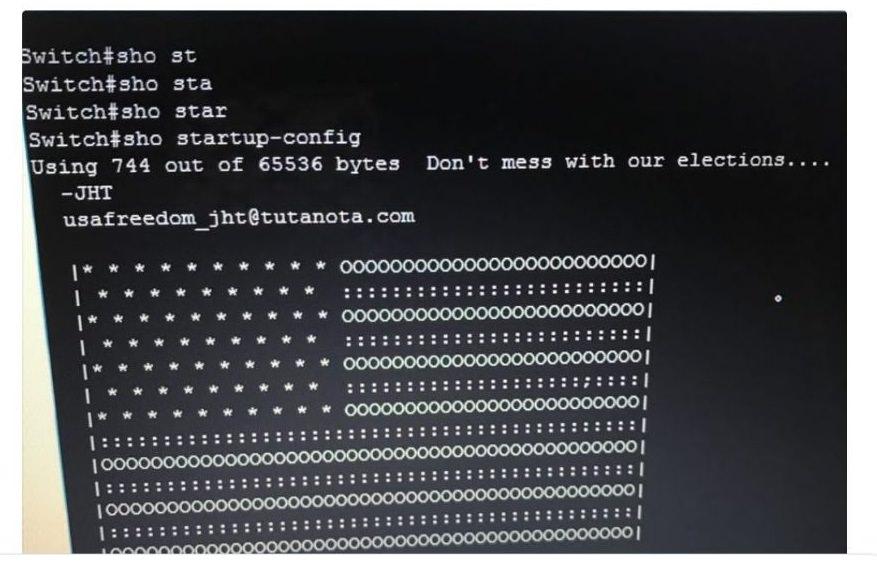 هک شدن روتر های سیسکو