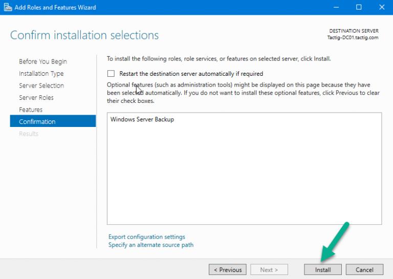 بکاپ گیری Active Directory در ویندوز سرور ۲۰۱۶