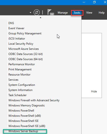بکاپ گیری Active Directory