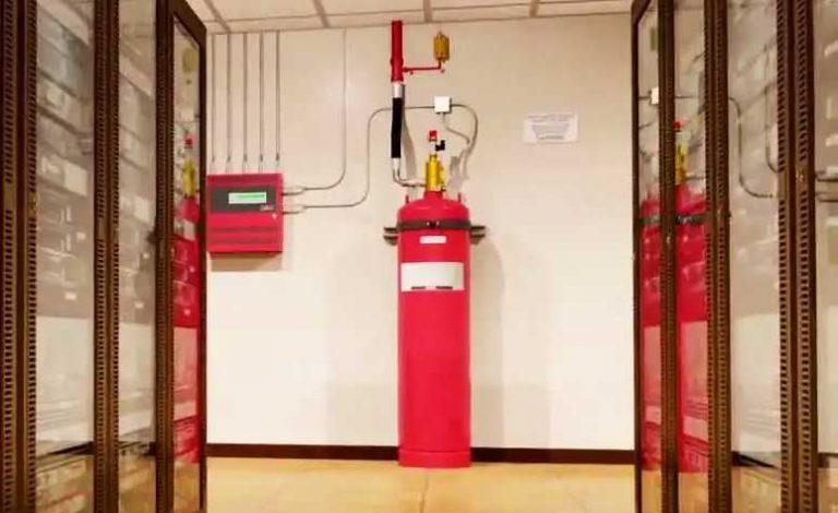سیستم اطفاء حریق FM200 مراکز داده